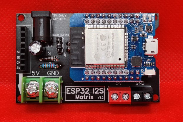 ESP32 I2S Matrix Shield