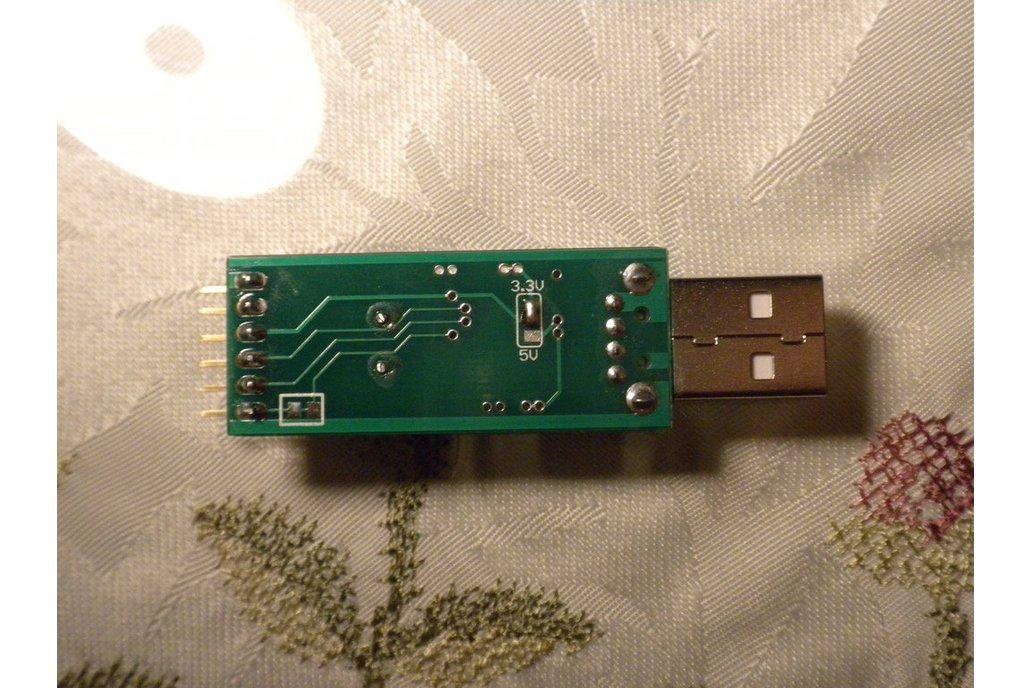 Fused USB to UART adapter (3.3V and 5V, M180/1v4) 4