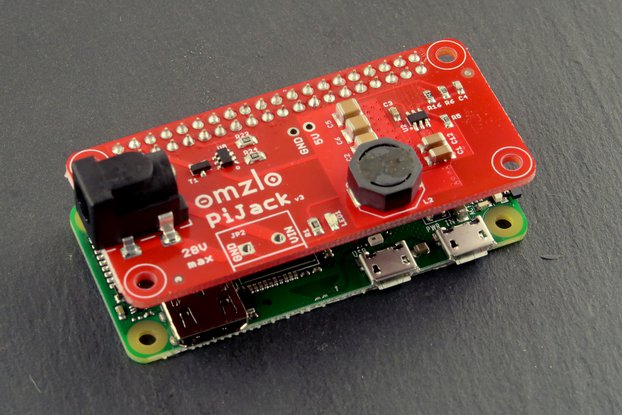 Pi Jack: Power your Raspberry Pi from 6V to 28V