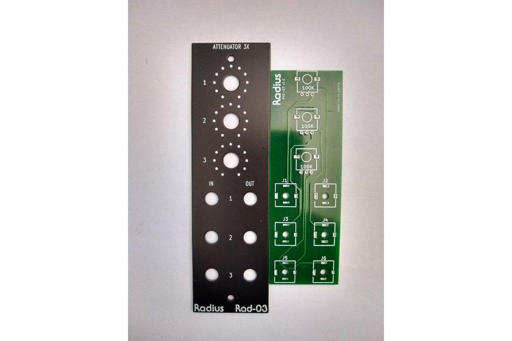 Rad-03 Attenuator 3X 1