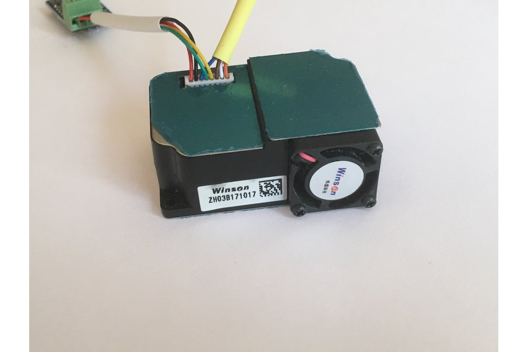 USB Laser particle detector for PM1, PM2 5, PM10