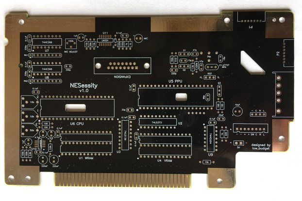 NESessity Upgraded Replacement PCB for NES Console