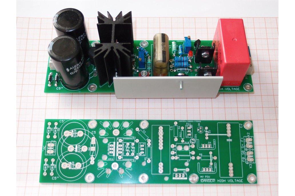 PCB Tube Anode Adjustable PSU Regulator Salas V2 6