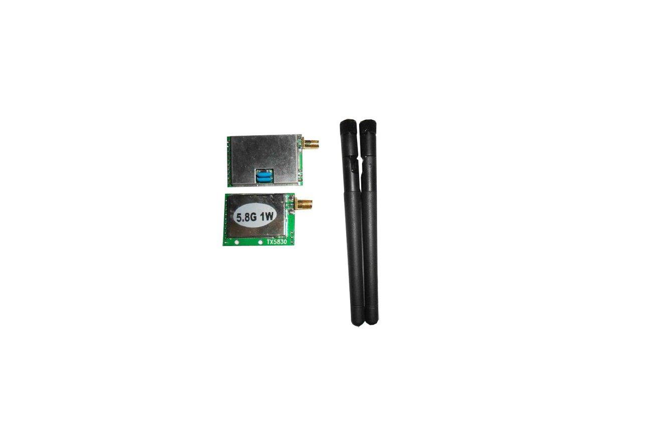 1W 5.8G high power wireless radio module kit