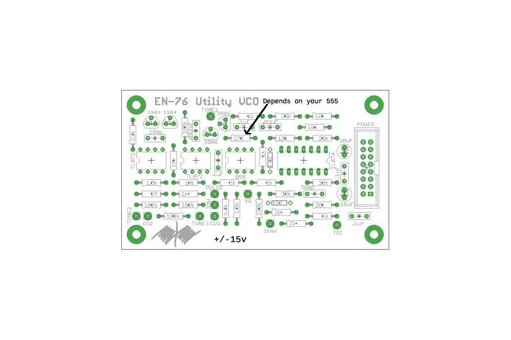 EN76 Utility VCO PCB 2