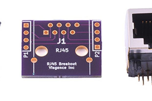 DIP RJ45 Breakout Board