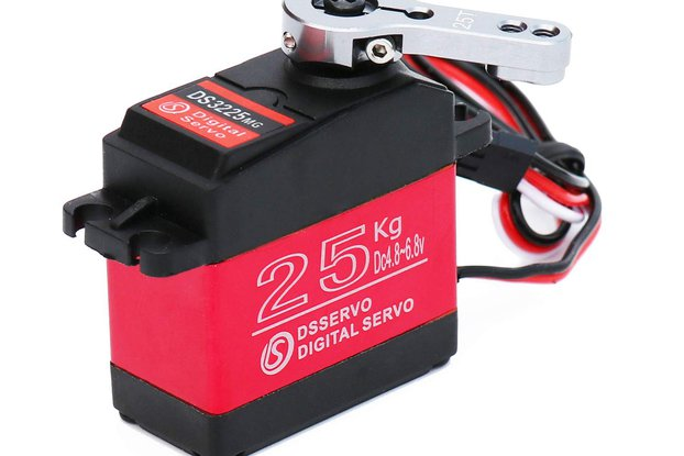 25KG Digital Metal Servo  for RC Car Robert 270°