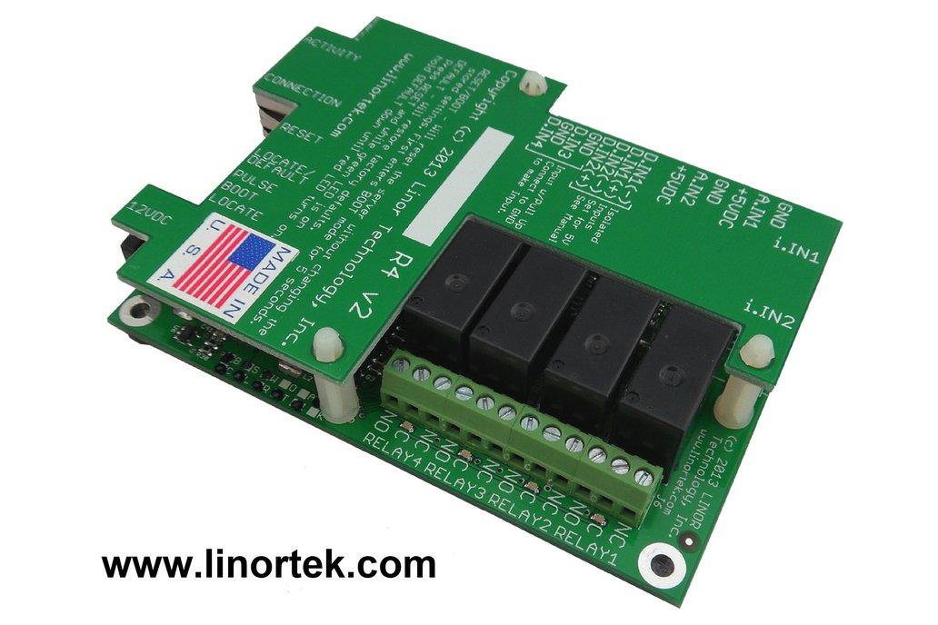 Fargo R4DI Web Based TCP/IP Ethernet Relay Board 1