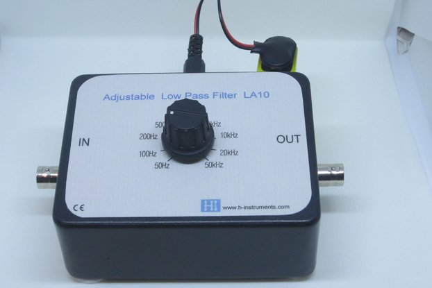 Low pass filter LA-10. Adjustable