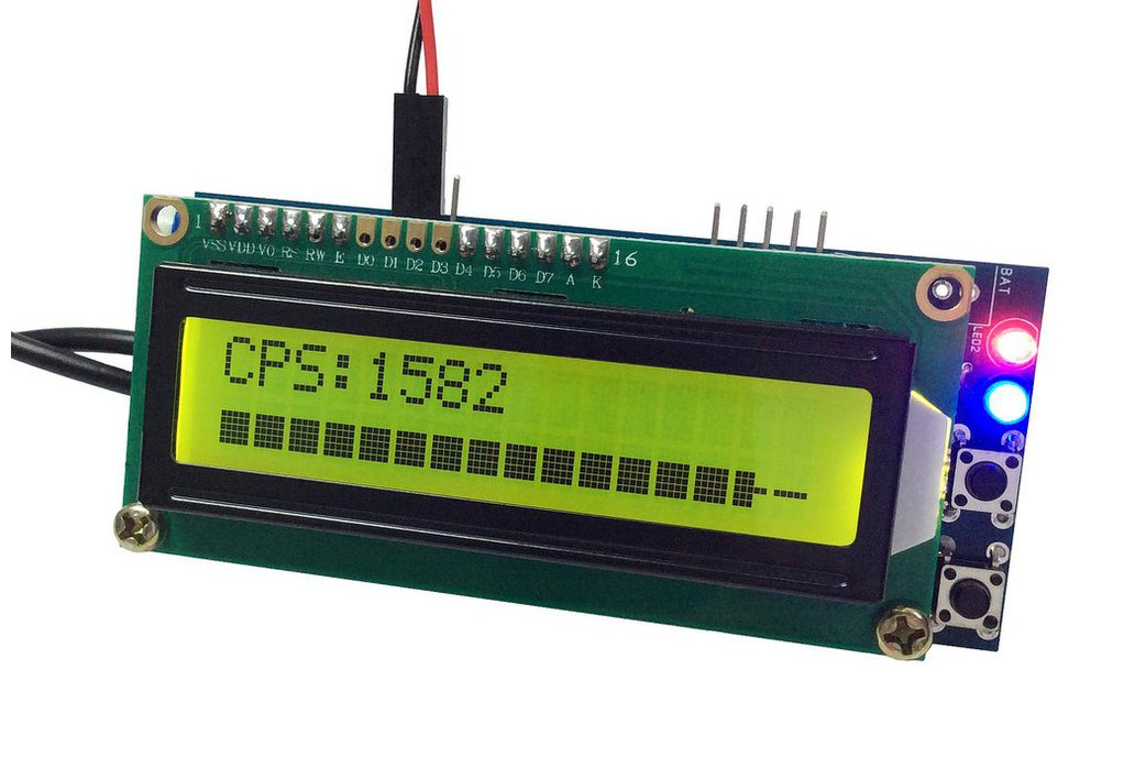 Arduino IDE Geiger Counter DIY Kit ver.2 with LCD 2