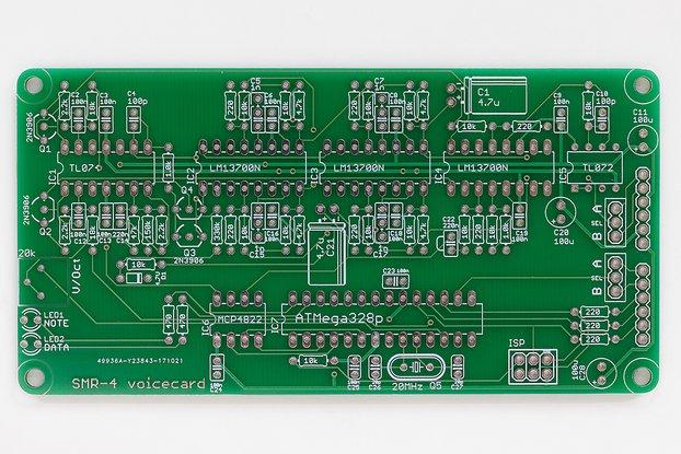 Ambika SMR4 Voicecard PCB