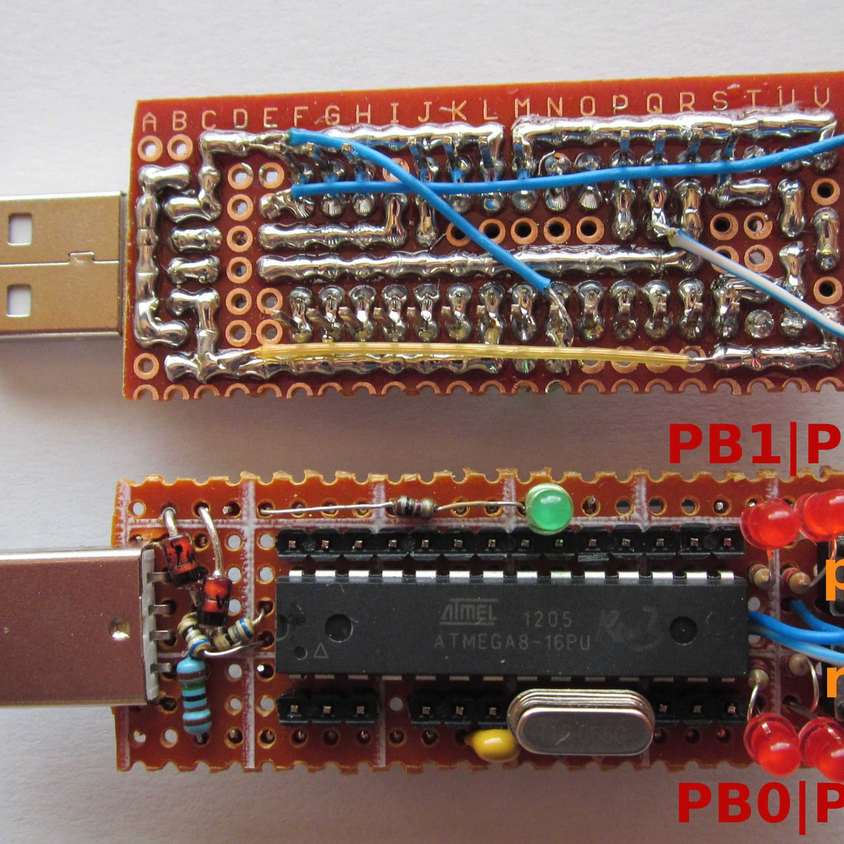 Tinyusbboard Rev 3 Tht Kit From Matrixstorm On Tindie Usbasp Avr Programmer Flickr Photo Sharing