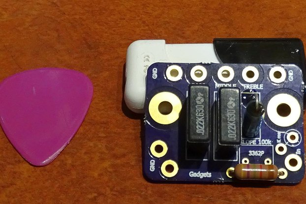 Tube Amplifier Modular Tone Stack Board
