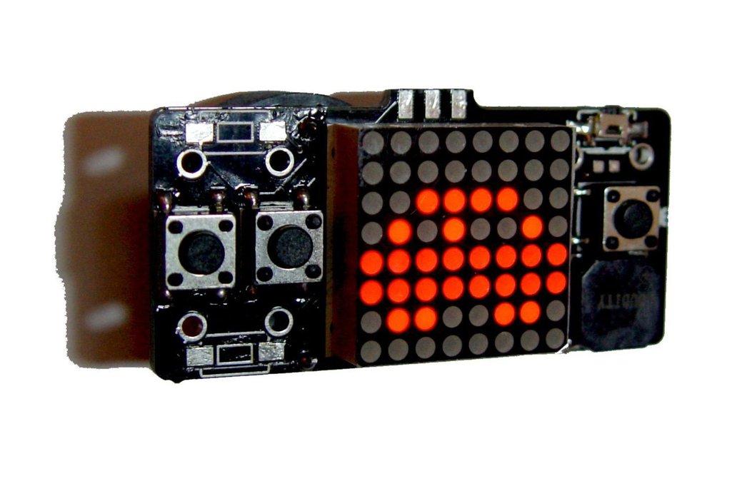 LSP64 - LED 8x8 matrix handheld retro Game console 2