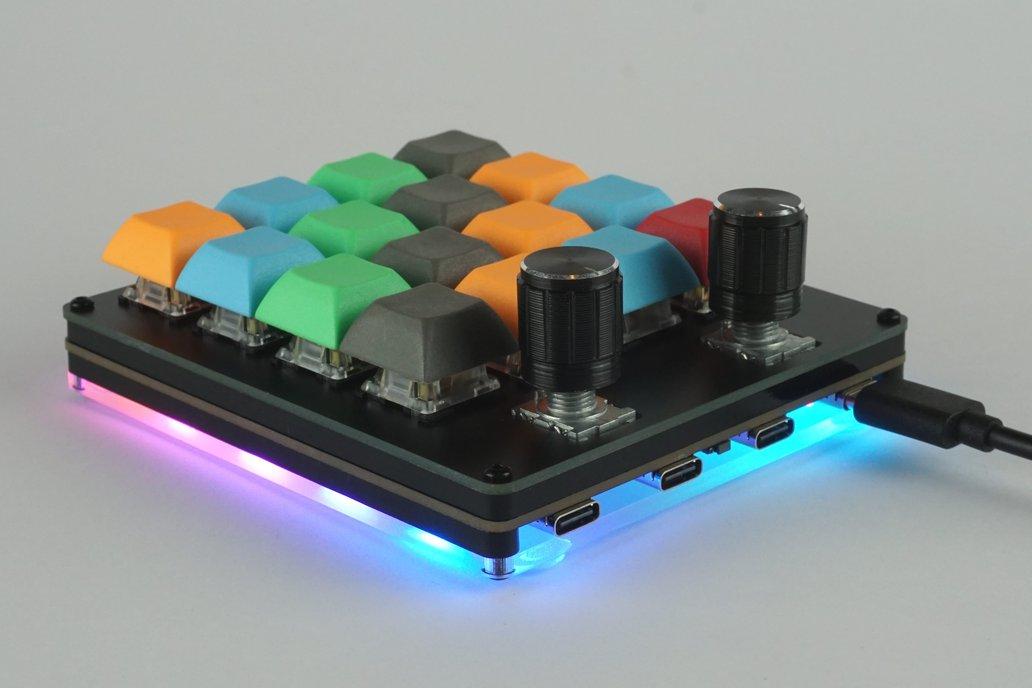 Hub16 - Programmable Macro Keyboard 1