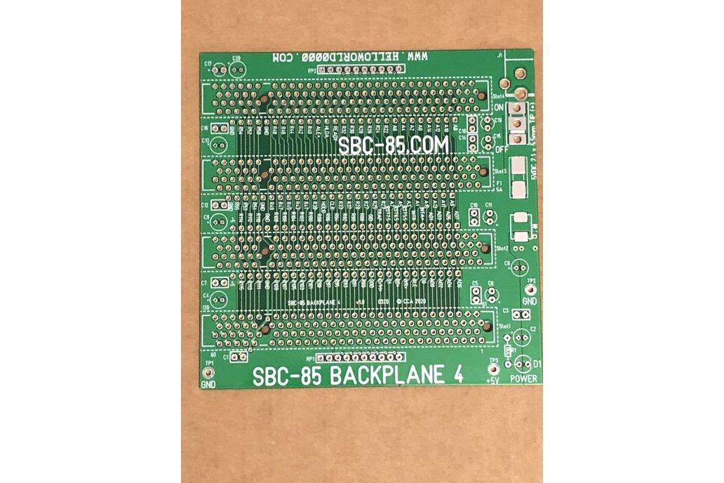 SBC-85 4-slot Backplane Bare Board 1