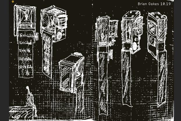 Reactor Sketch Print 2019