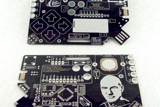 PYcARD (Jean-Luc) - Python + Arduino in card