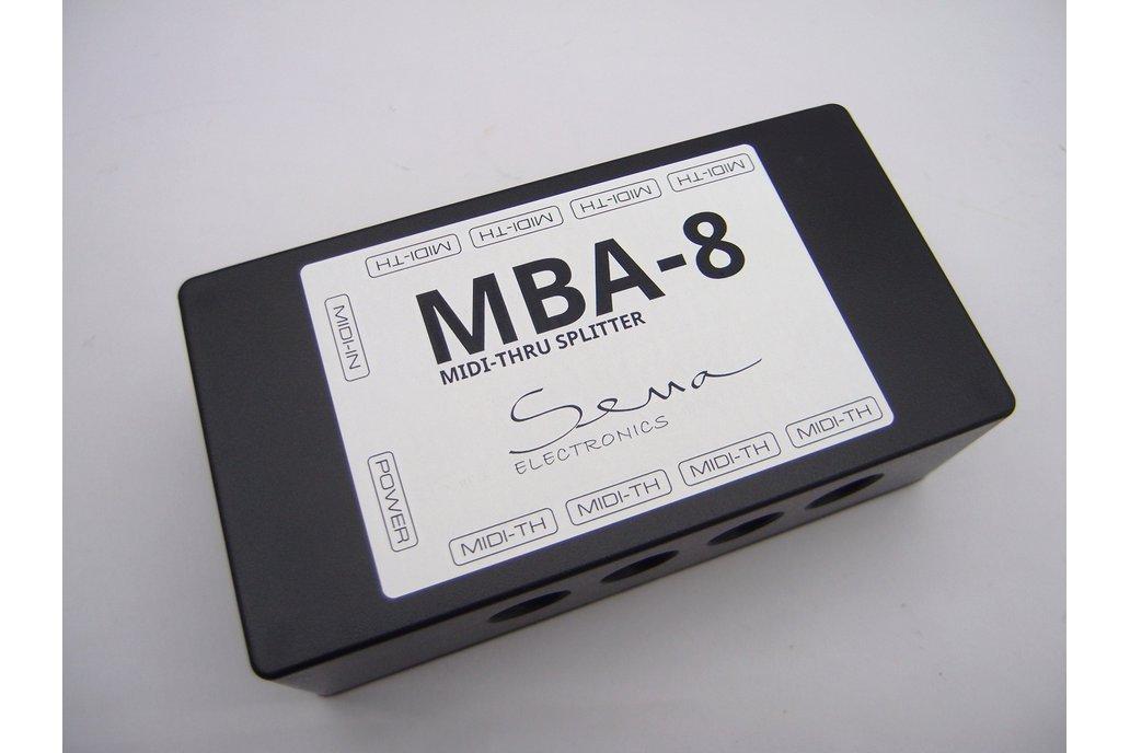8 Way MIDI Thru/Splitter Box 1