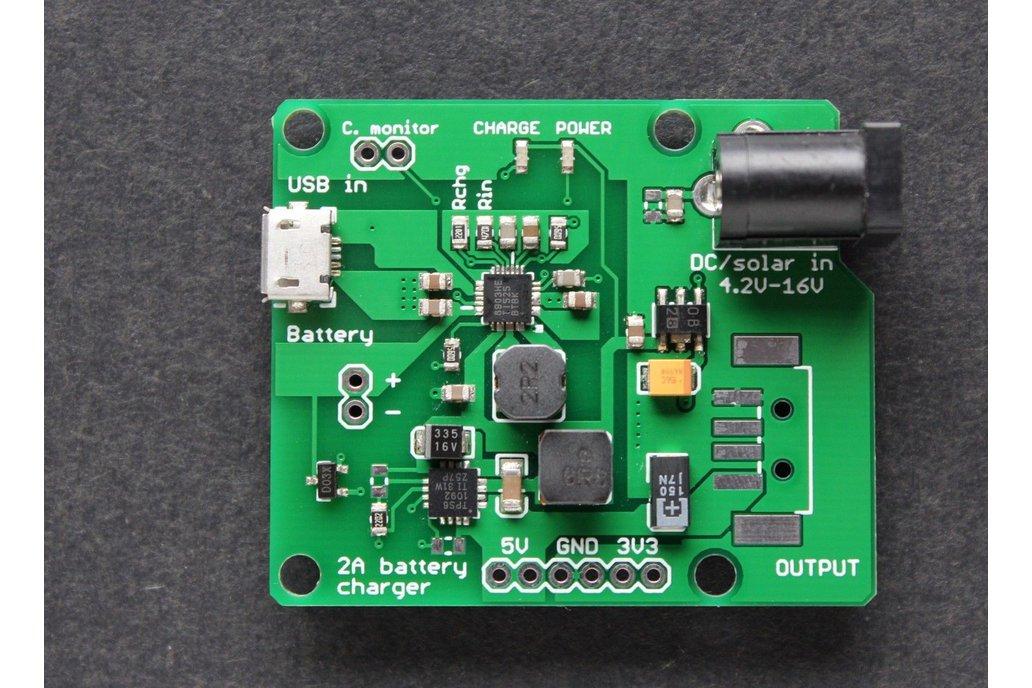 LiPO charger / boost converter 5V 3.3V outputs 1