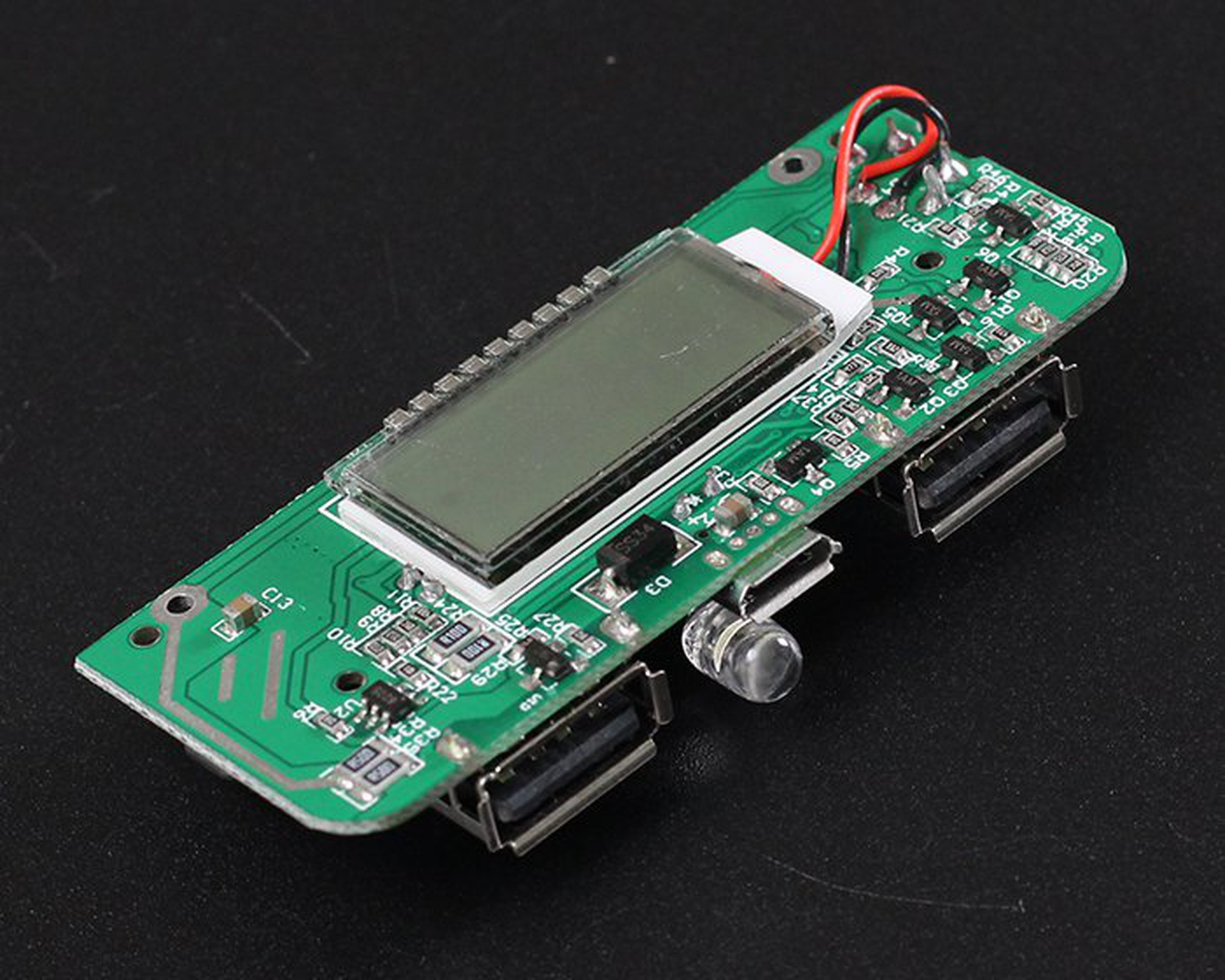 Two Usb Mobile Power Bank Charger Pcb Board6876 From Icstation On Recycled Circuit Board Small Notebook 4
