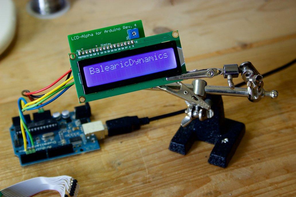 Alphanumeric LCD Arduino Kit 4