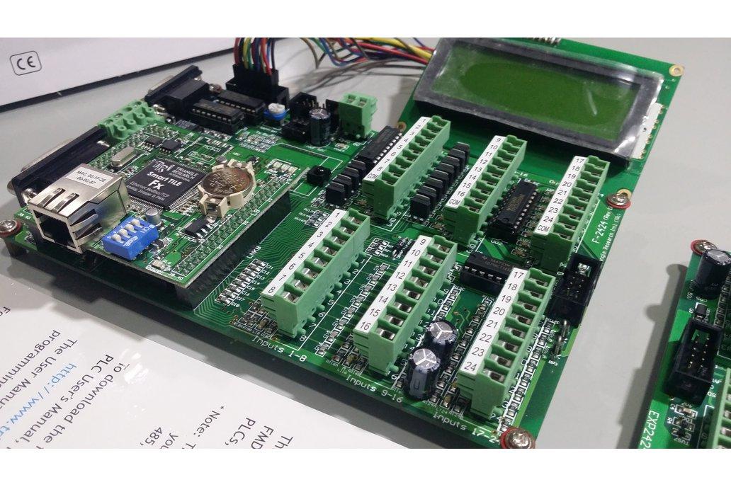 Smart Tile Fx2424 PLC and Expansion Board  14