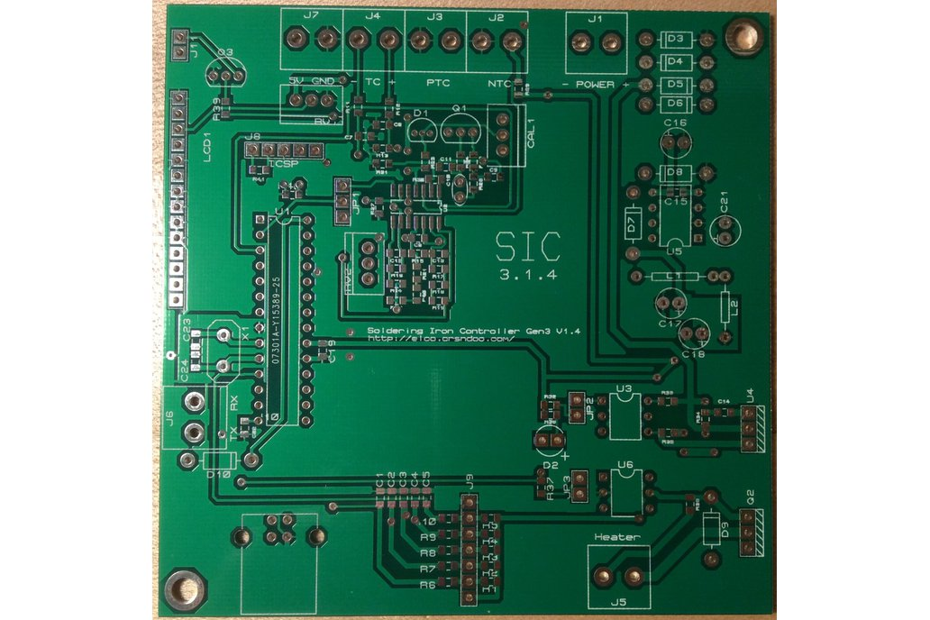 Soldering Iron Controller/Driver - PCB only 1