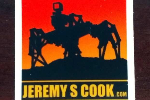 Jeremy S. Cook Stickers!