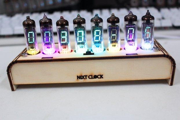 NIXT CLOCK - 100% Assembled IV-6 VFD Tube Clock