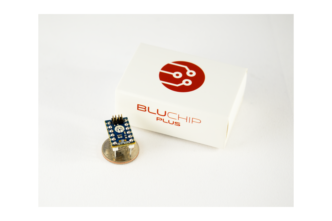 BluChip Plus - Tiny Bluetooth 5.0 Developer Board