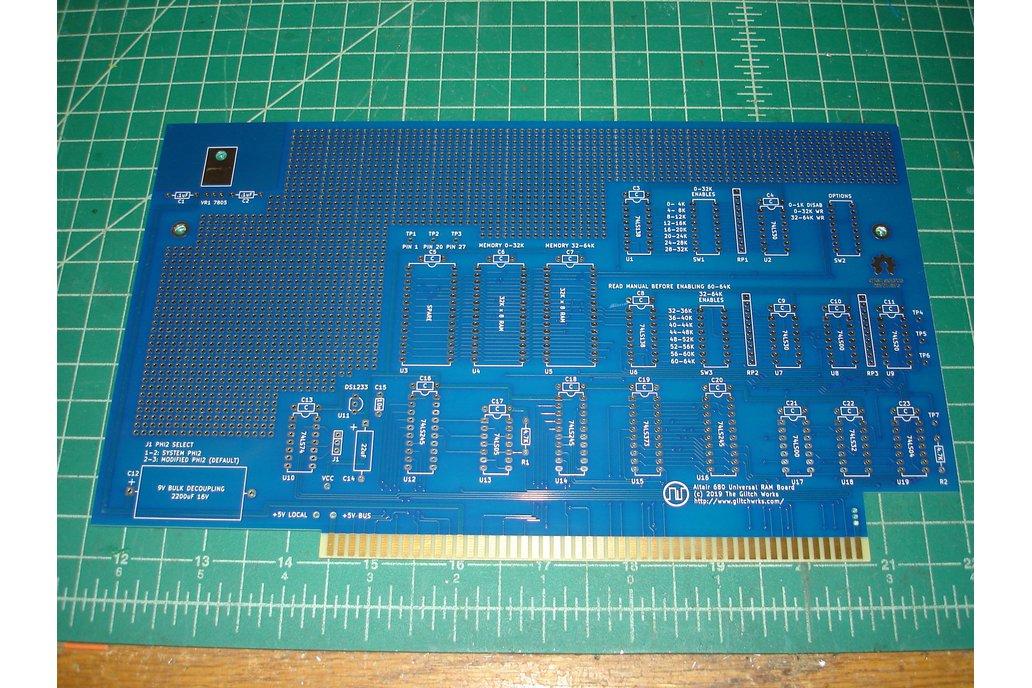 Glitch Works Altair 680 Universal 64K RAM Board 1