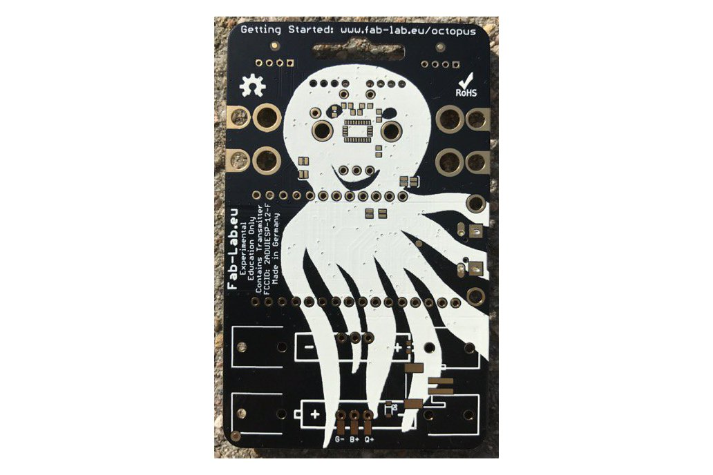 #IoT OCTOPUS - Badge for IoT Evaluation 2