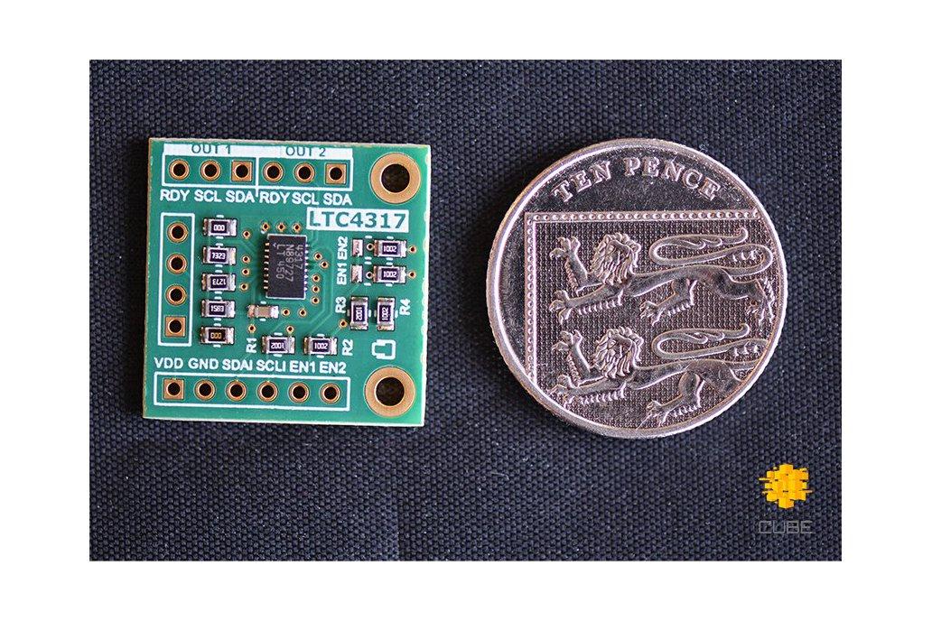 LTC4317 Dual I2C/SMBus Hardware Address Translator 2