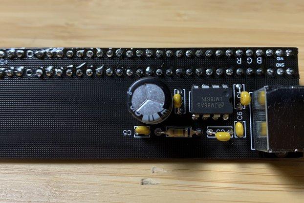 2068 RGB video to HDMI Timex/Sinclair