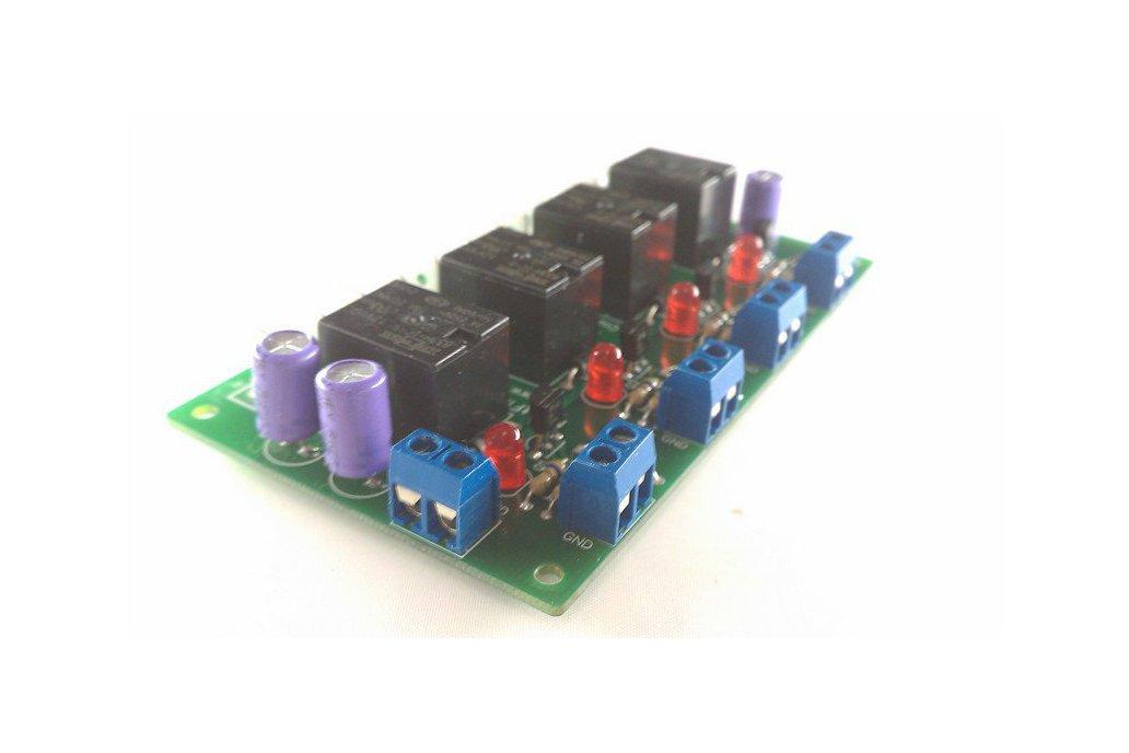 4 Relays, 12v, I/O Module Kit (#2443) 1