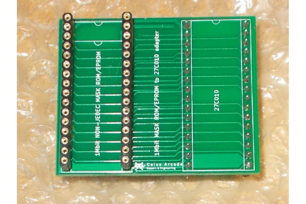 1Mbit MASK ROM/EPROM to 27C010 adapter 1