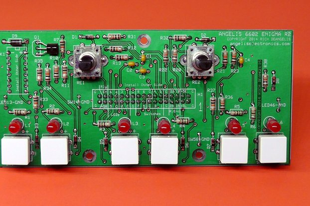 """6602 """"Enigma"""" Control Panel with Red LEDs"""