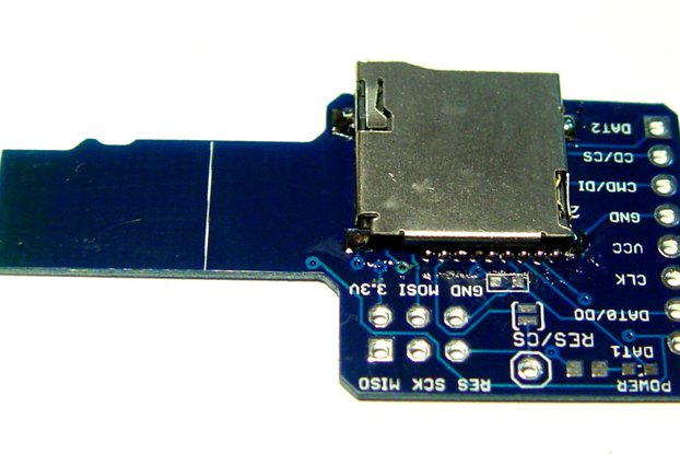 micro SD card sniffer for Logic analyzer