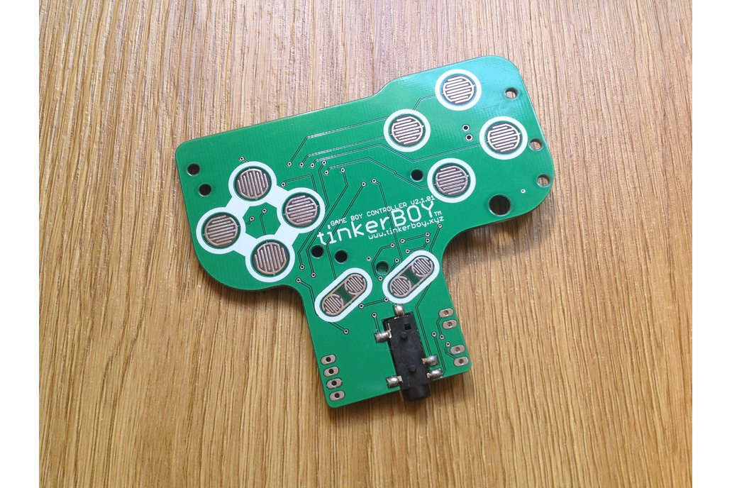 Game Boy Controller v2.1 with Pro Micro, Audio Amp 2