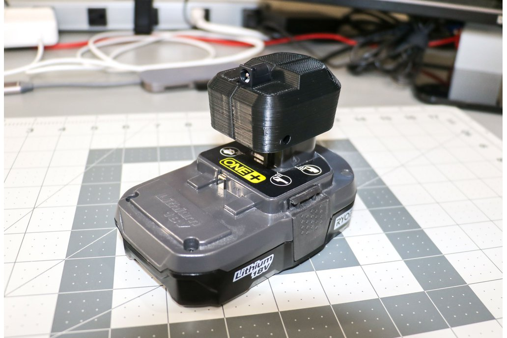 Ryobi Power Supply - Barrel Connector Adapter 1