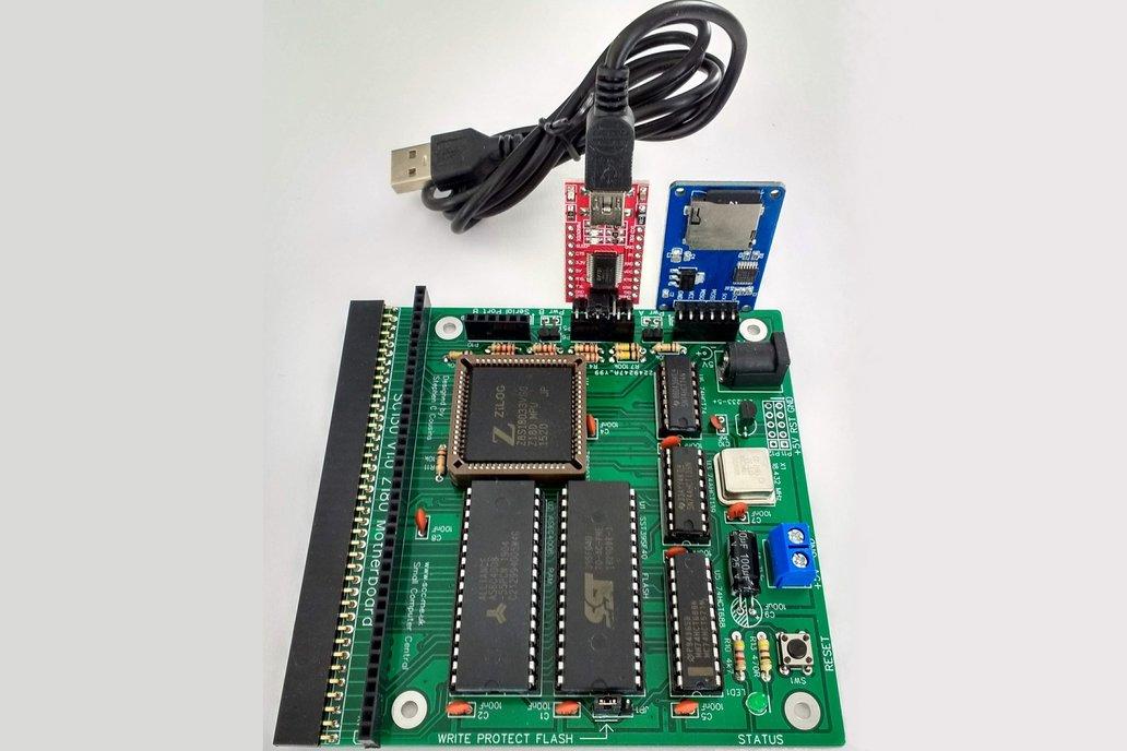 SC130 RomWBW CP/M Computer Kit 1