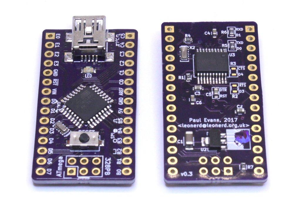 ATmega328PB Development Board 3