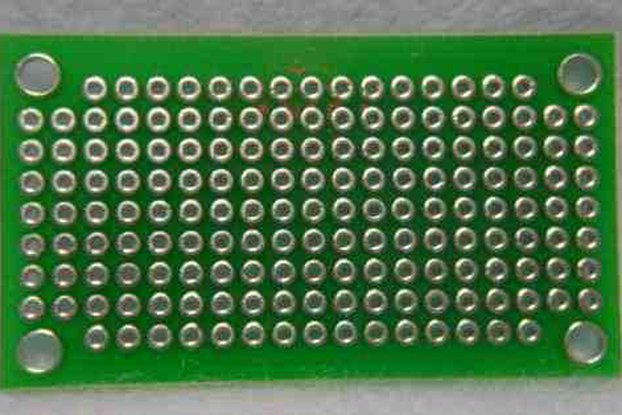 Blank Prototype PCB - 162 Holes