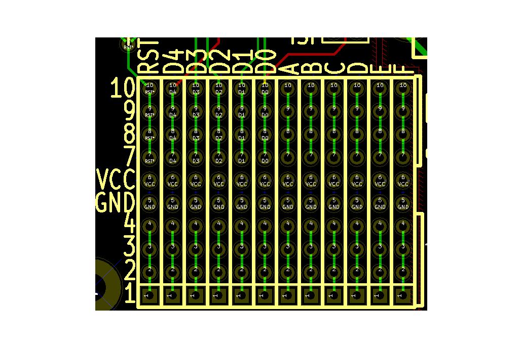TinyGrid85 - ATTiny85 board with prototyping area 4