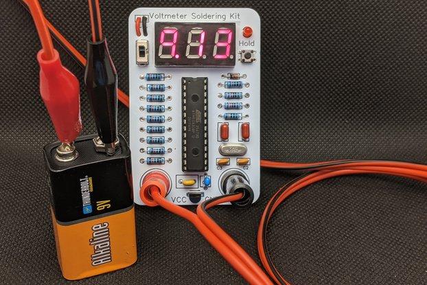 Voltmeter Soldering Kit