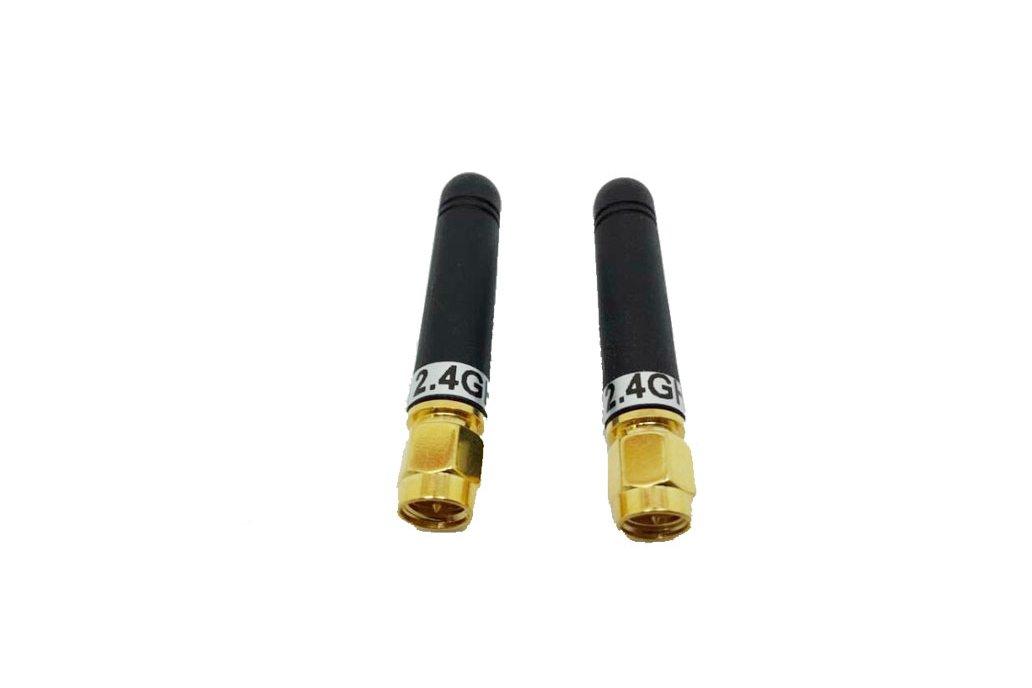 6pcs/pack 2.4GHz Straight Rod Antenna SW2400-ZT48 1