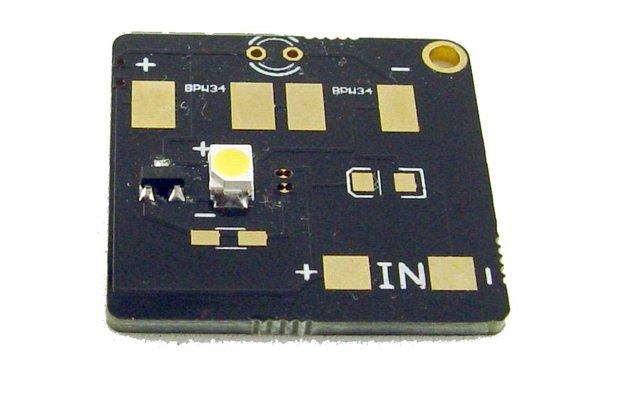 Mini PCB coil joule thief
