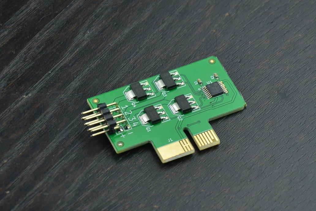 R1002: Quad 1A NFET Switches 1