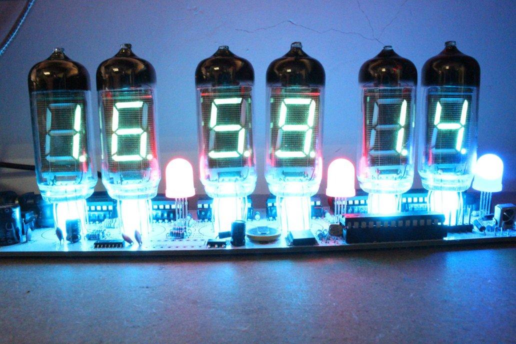 Diy Kit - NIXT CLOCK - IV11 VFD Tube Soldering Kit 1